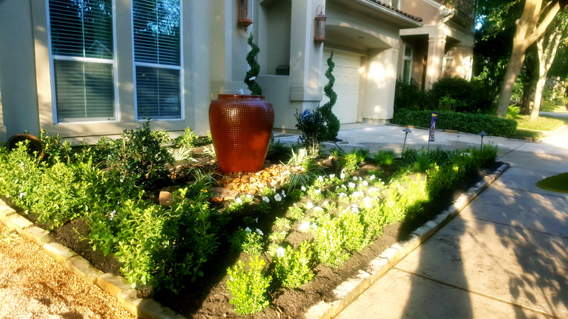 Water Features and landscaping