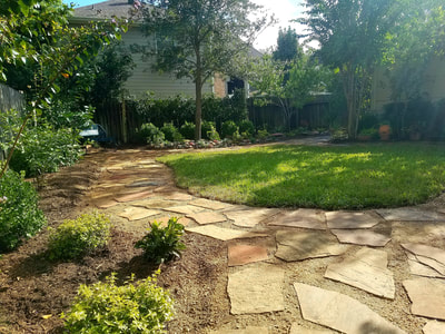 Landscaping with Flagstones