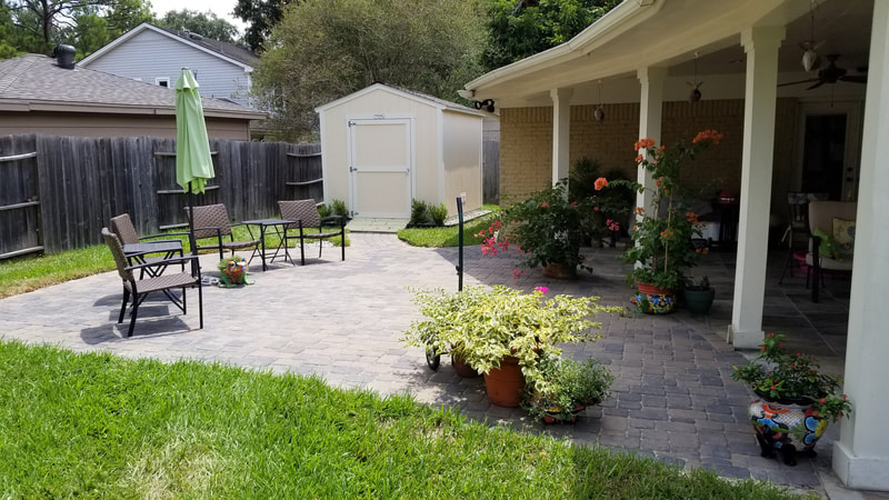 Outdoor Patio and Landscaping
